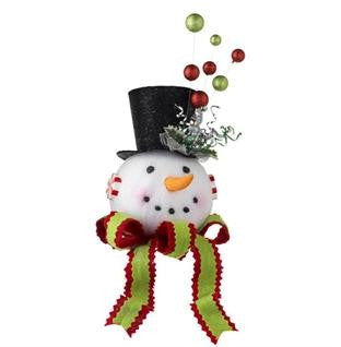 Celebration Snowman Tree Topper 3216196