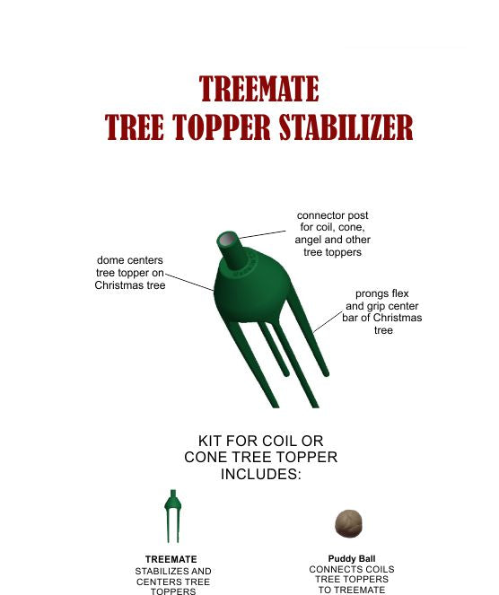 TreeMate Tree Topper Stabilizer Kit