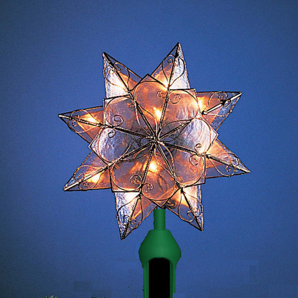 Capiz Star Tree Topper UL0286