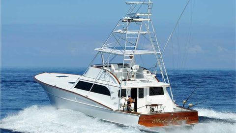 Marlin Magic II at sea