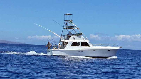 Hinatea Sportfishing offers great fishing charters in Maui.