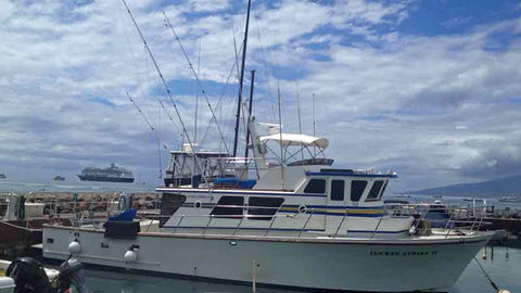 The Luckey Strike Sportfishing Boat Maui Hawaii