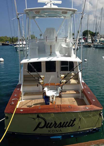 Pursuit stern