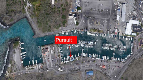 Pursuit slip location