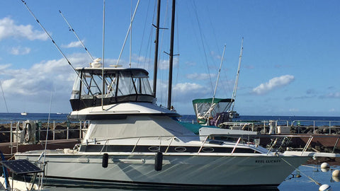 Reel Luckey 38' Sport Fishing Boat Maui