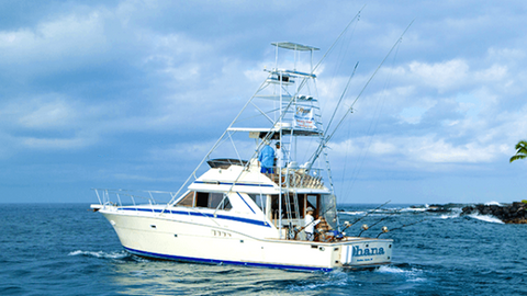 Ohana sportfishing adventure, on the water