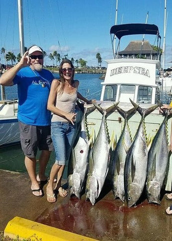 Deep Sea, Tuna, Haleiwa, fishing