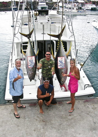 Marlin Grando, Ahi, fishing
