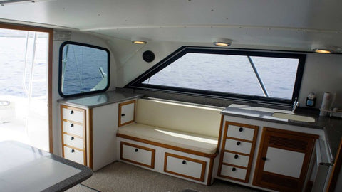 Marlin Grando, interior