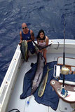 Catching more fish aboud the 53' Strikeology