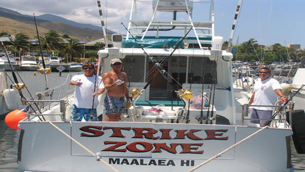 Large groups sport bottom fishing in maui hawaii for Bottom fishing oahu