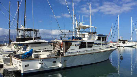 Luckey Strike Combo Fishing Boat on Maui Hawaii