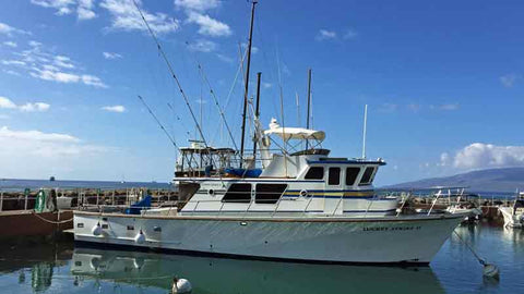 The Luckey Strike Deep Sea Fishing Boat Lahaina Maui