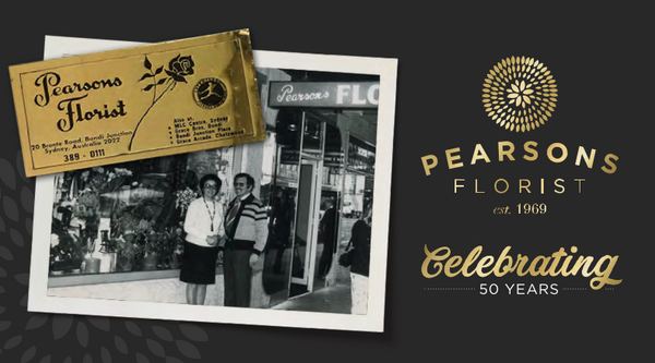PEARSONS 50TH ANNIVERSARY - Special Celebration Offers!