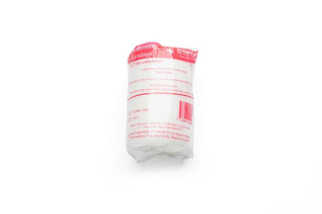 Conforming cotton bandage, 5cm x 1.8m unstretched