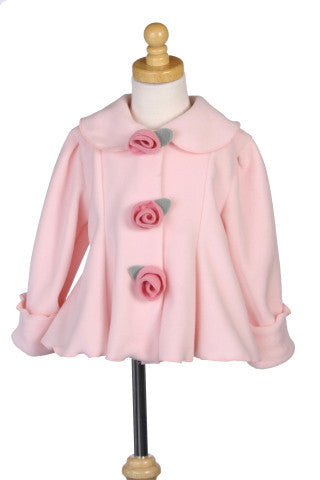 #6014 Light Pink Garden Jacket (3M-24M will be restocked in November)