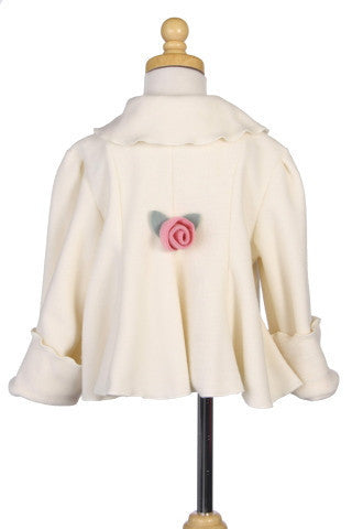 #6014 Ivory Garden Jacket (3M-24M will be restocked in November)