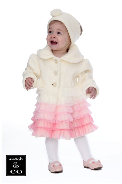 #1952 Ballerina Coat & Headband Set