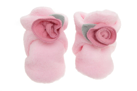 #1843 Light Pink Garden Booties