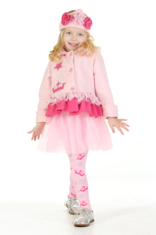 #1602 Princess Jacket and Headband Set