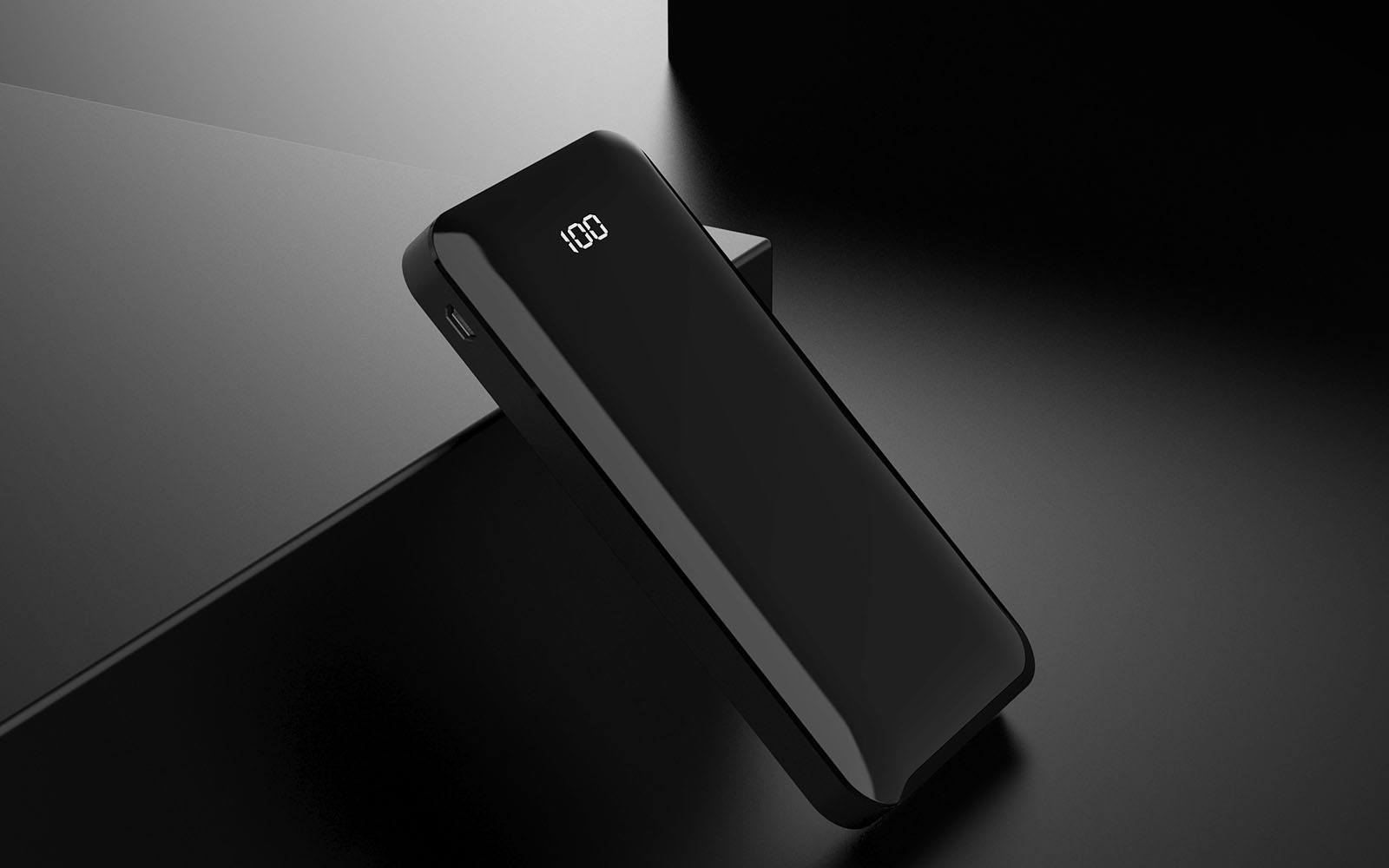 10000mAh Power Bank with Full Screen Display Banner - Gorilla Gadgets