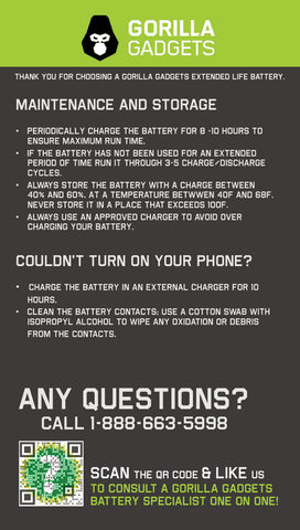 How to take care of lithium ion phone battery