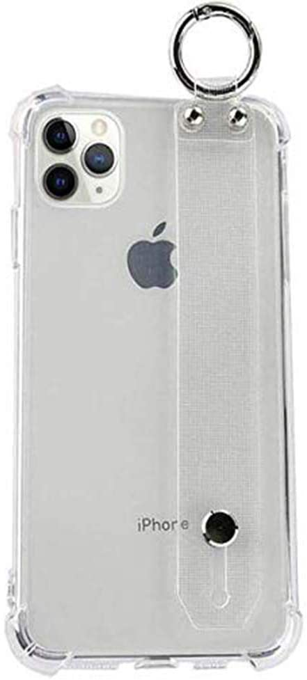 iPhone 12 Mini Soft Silicone Slim Fit Case with Wrist Strap