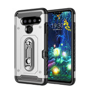 LG V50 Armor Case with Card Slot and Kickstand