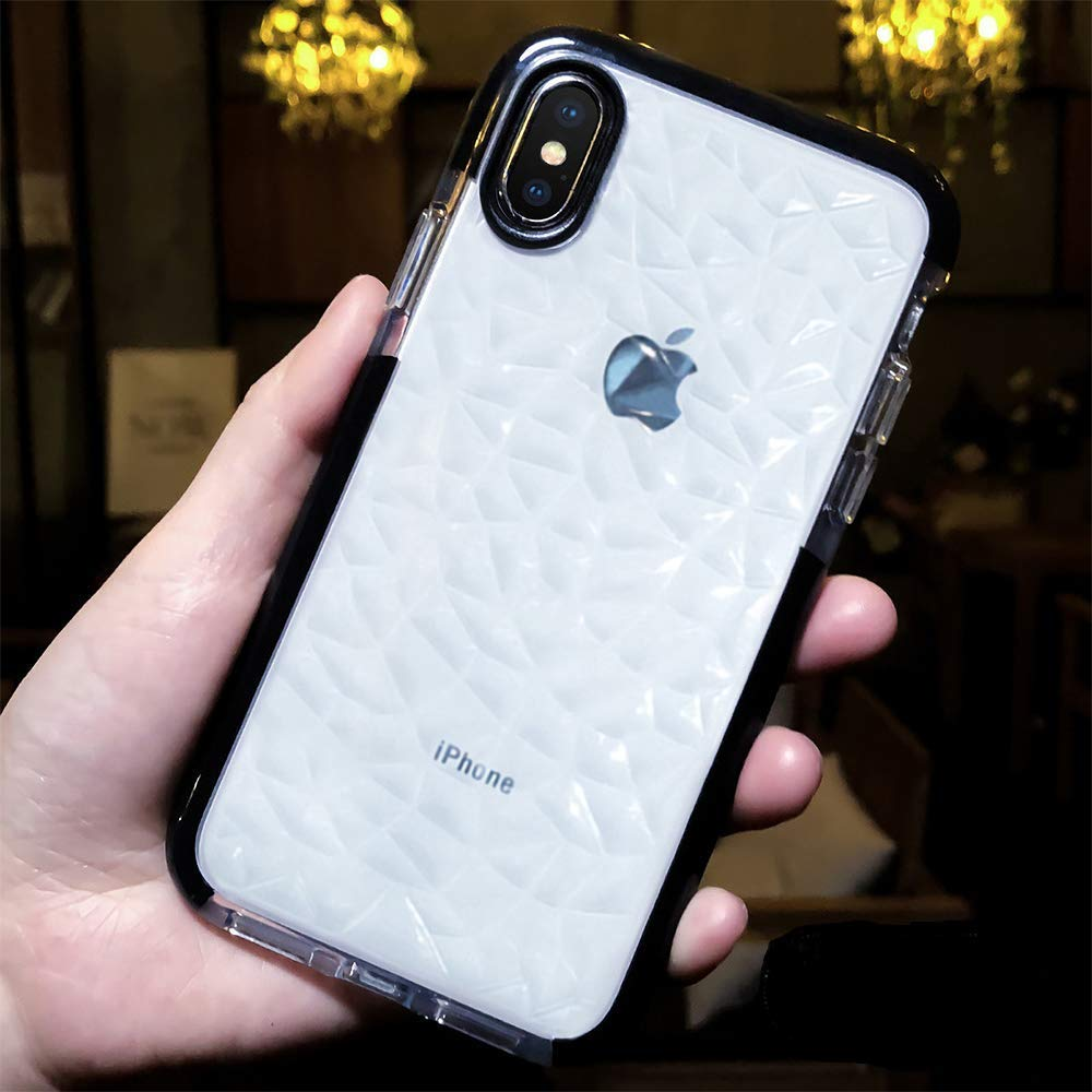 iPhone X / Xs Clear Soft Silicone Rubber Bumper Case - Gorilla Gadgets