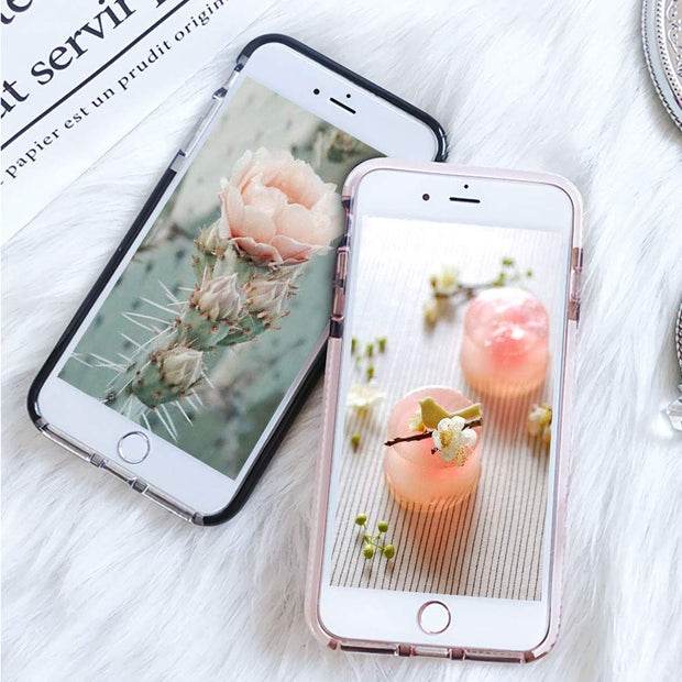iPhone Xs Max Clear Soft Silicone Rubber Bumper Case - Gorilla Gadgets