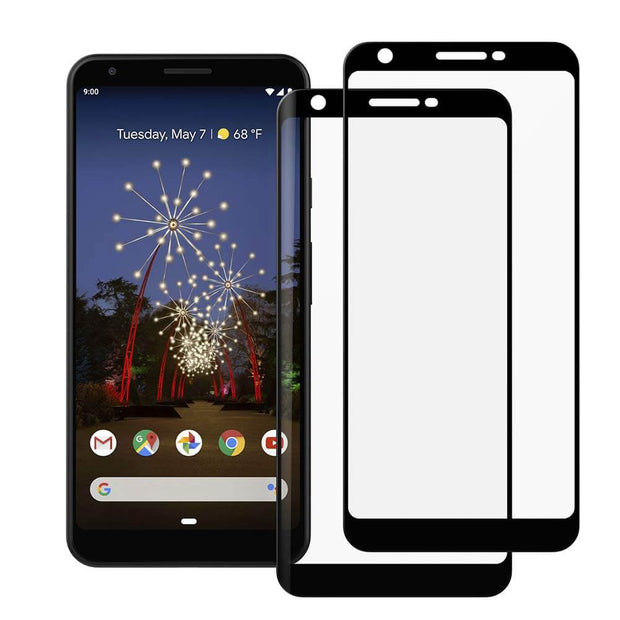 2 Pack Google Pixel 3a XL Tempered Glass Screen Protector - Gorilla Gadgets