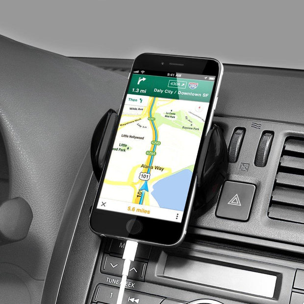 Air Vent Car Mount Universal Cell Phone Holder for Smartphone - eclubdeals