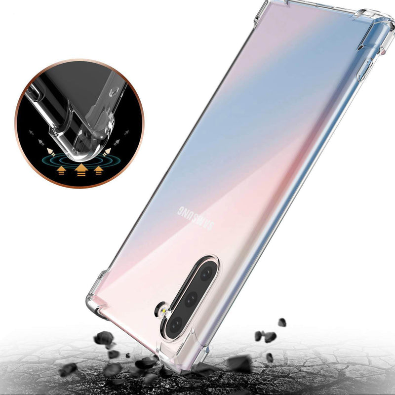 Samsung Galaxy Note 10 Clear TPU Case - Gorilla Gadgets