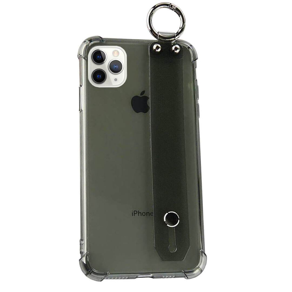 Iphone 11 Pro Max Clear Tpu Case With Hand Strap Gorilla Gadgets