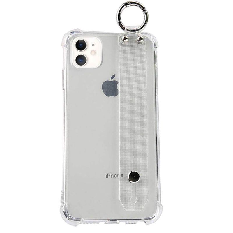 iPhone 11 Clear TPU Case with Hand Strap