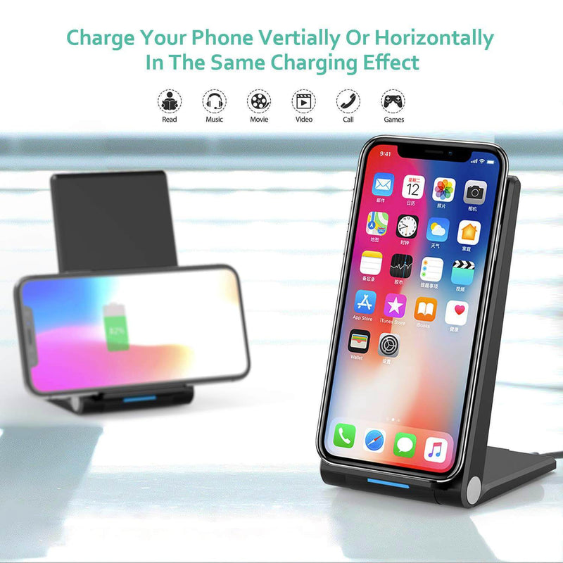 10W Foldable Wireless Charging Stand - Gorilla Gadgets