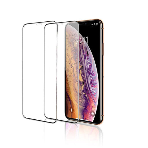2-Pack iPhone Xs / X Full Coverage Tempered Glass Screen Protector (Clear) - Gorilla Gadgets