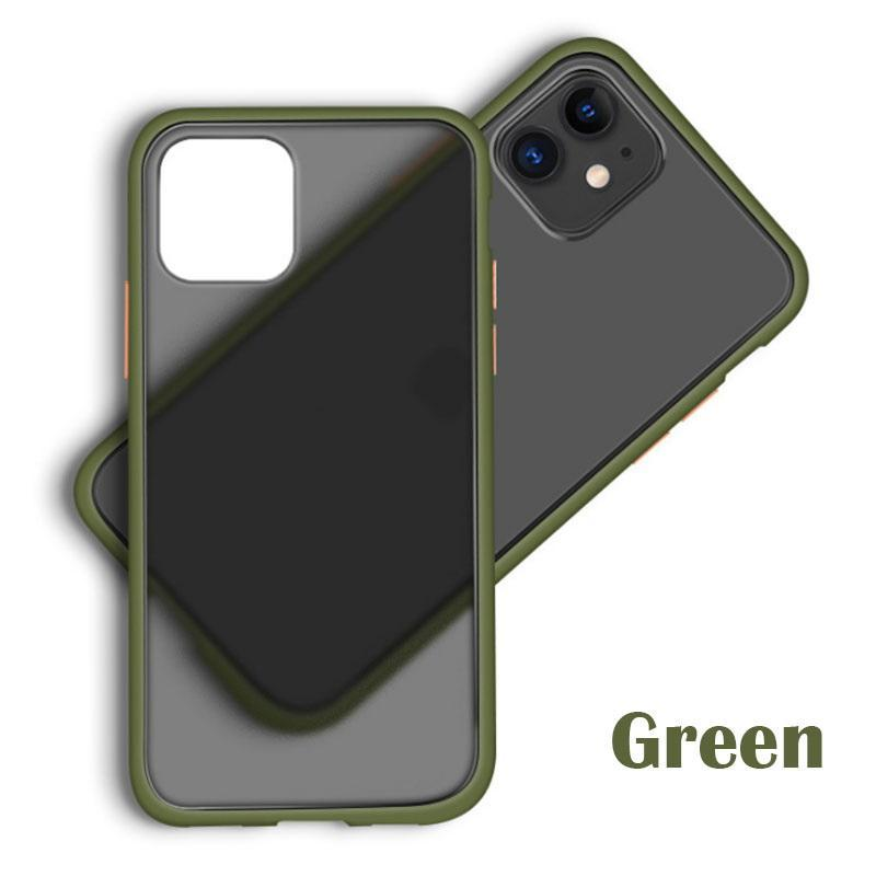 Gorilla Gadgets Slim Fit for iPhone 11 Case, Translucent Matte Case with Soft Edges, Shockproof Protective Case Cover