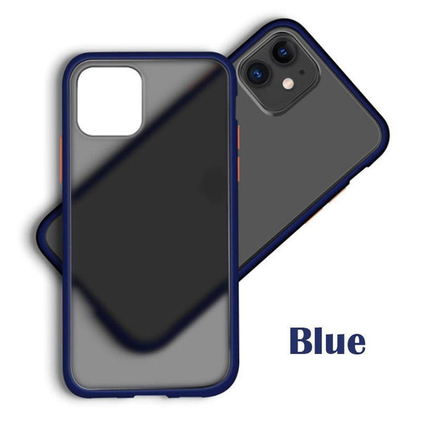 Gorilla Gadgets Slim Fit for iPhone 11 Pro Case, Translucent Matte Case with Soft Edges, Shockproof Protective Case Cover