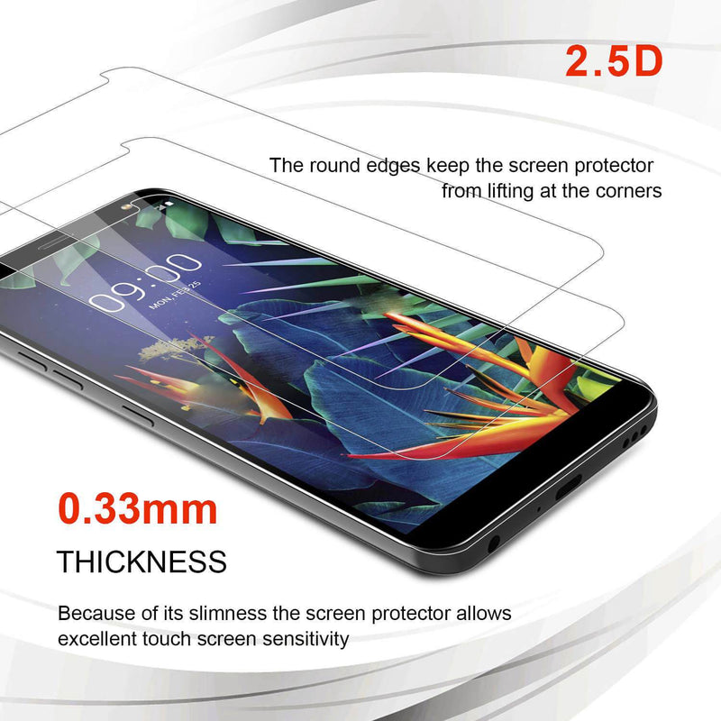 LG K40 Tempered Glass Screen Protector - Gorilla Gadgets