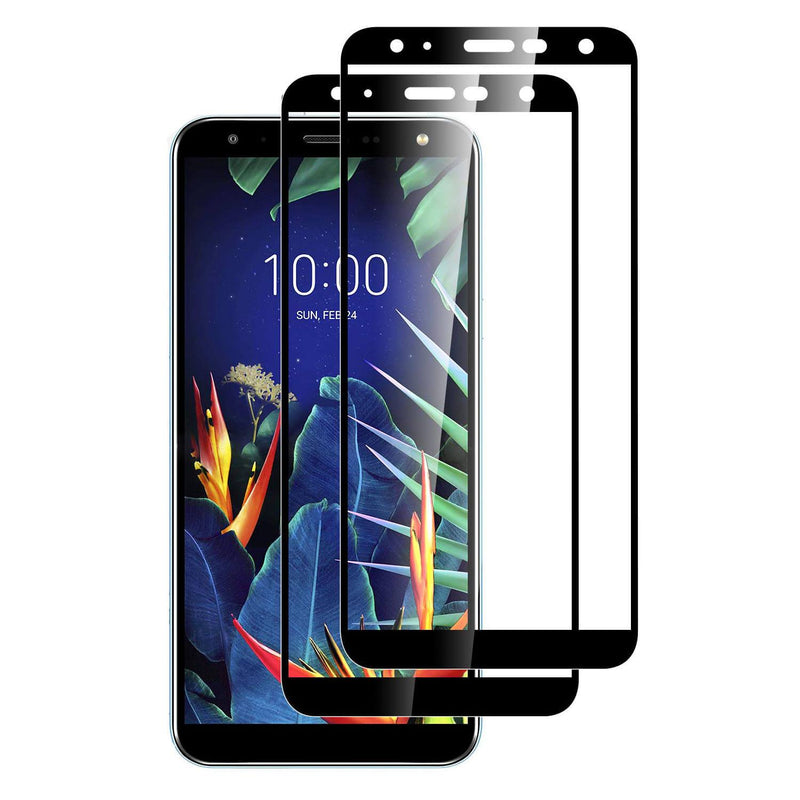 2 Pack LG K40 Tempered Glass Screen Protector - Gorilla Gadgets