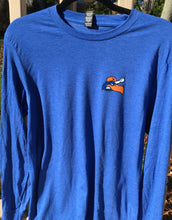 Load image into Gallery viewer, NEW -Hyannis Harbor Hawks Home Plate Blue L/S Tee