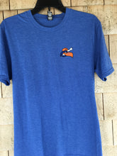 Load image into Gallery viewer, Hyannis Harbor Hawks Home Plate Blue Tee