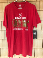 Hyannis Harbor Hawk Red '47 Club Tee