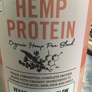 Nutra Organics hemp protein with beauty berries