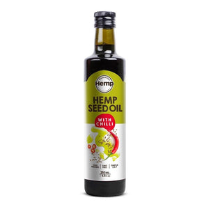 Hemp seed oil with chilli