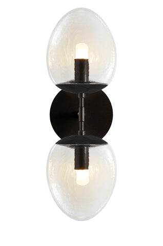 Foliole Sconce Double