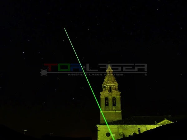 Laser Pointers for Astronomy