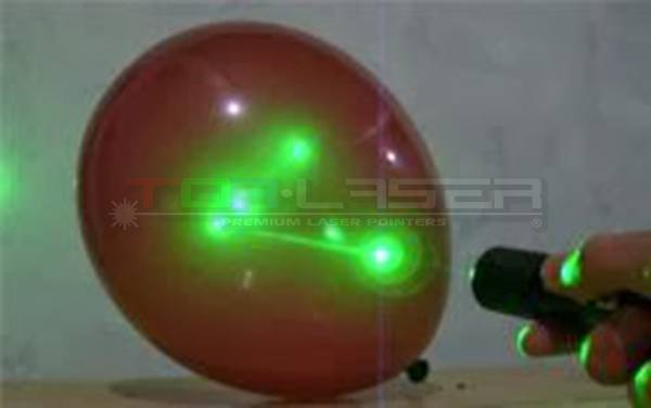 Kutumia Green Laser Pointer Globe