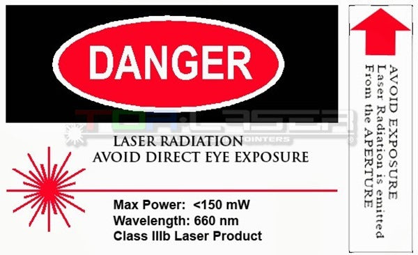 Standards and Labeling laser pointers